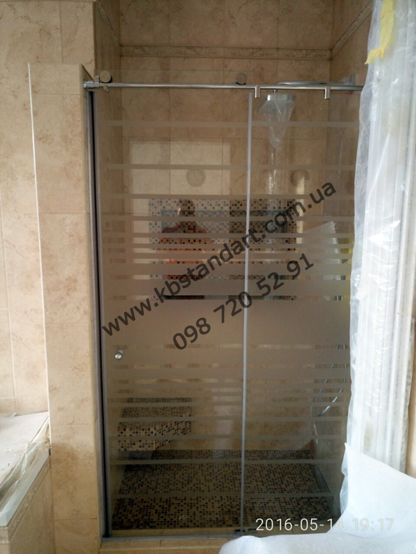 Раздвижные стеклянные двери под заказ (на заказ в Одессе)