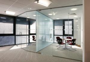 Офисные стеклянные перегородки в Одессе